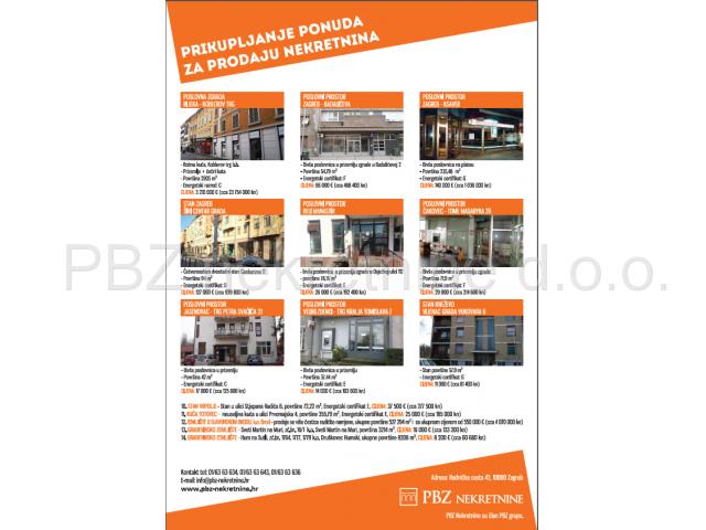 Natječaj za prodaju nekretnina